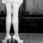 dancer's legs