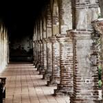 Mission San Juan Capistrano Pillars