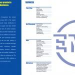 Product Brochure Inner Cover
