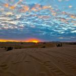 dune sunsets