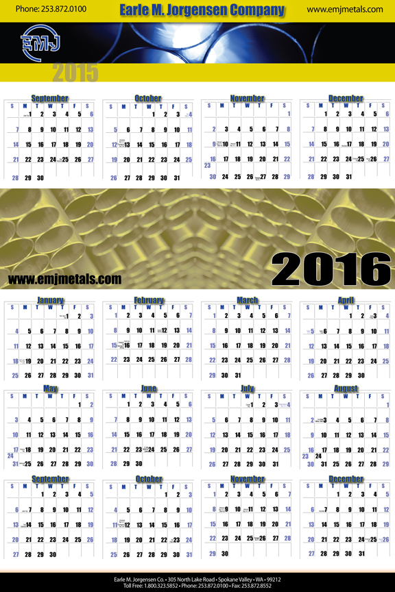 Corporate Calendar Concepts