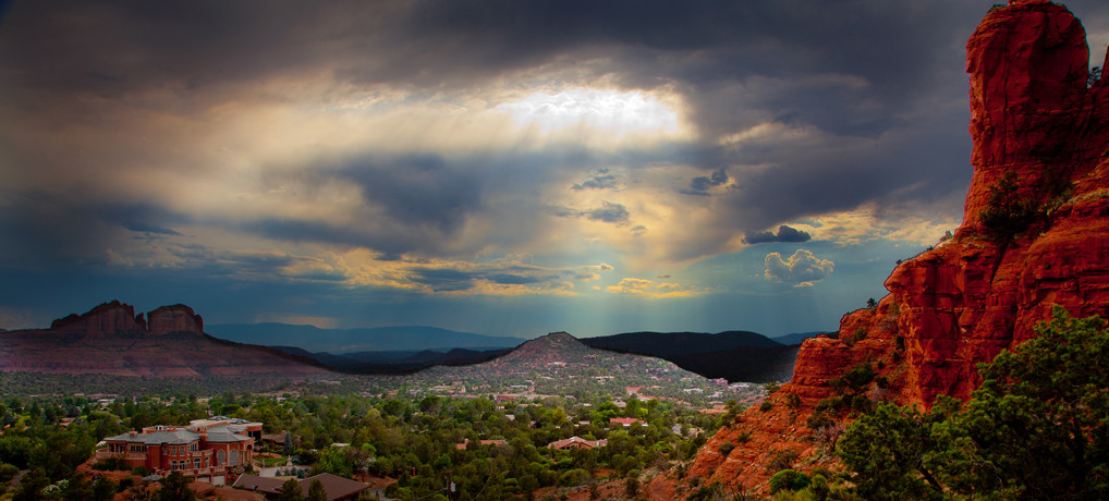 Sedona Arizona Thunderstorm