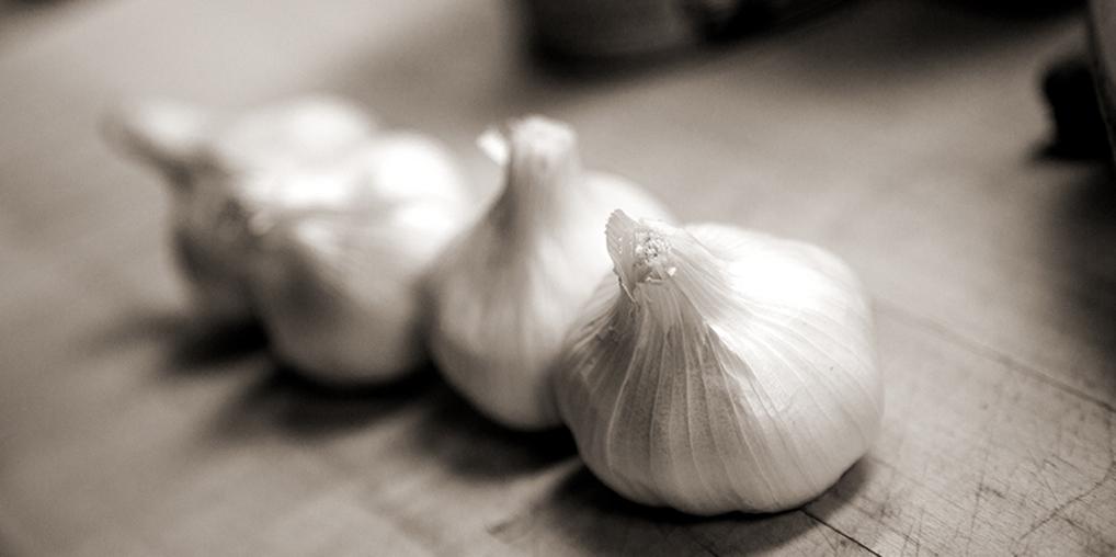 garlic as art