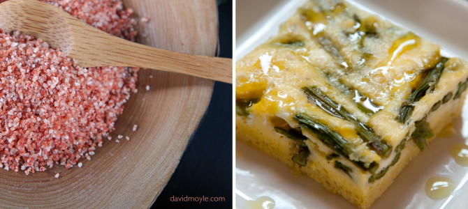 Gourmet Salt, Asparagus Fritatta